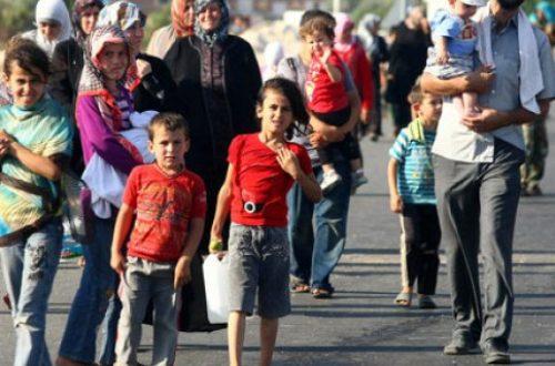Article : Accueillons les réfugiés syriens !